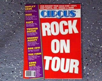 Rock On Tour - Circus Magazine -  June 1985