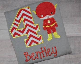 Boys Superhero Shirt