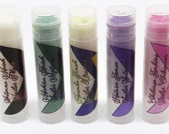 Sailor Moon Outer Senshi & Chibiusa Inspired Lip Balms, Set of Five or Individuals