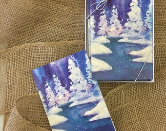 Winter Calm Blank Notecards