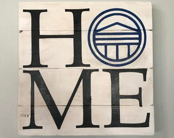 Longwood University HOME  // Custom // Gifts for Her // Gifts for Him // Wedding // Pallet // College