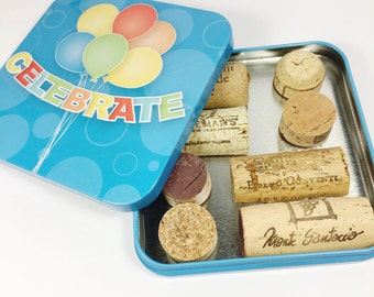 Upcycled Wine Cork Magnets, Recycled Natural Wine Cork Magnets, Wine Fridge Magnets, Cork Wine Magnets, Wine Party Favors, Wine Cork Crafts