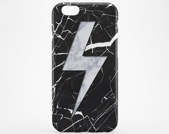 Marble iPhone 7 Case, Black Marble iPhone, Lightning iPhone Case, White Marble iPhone 6, Galaxy S7 Marble, iPhone 4-5S Case, iPhone 7 Plus