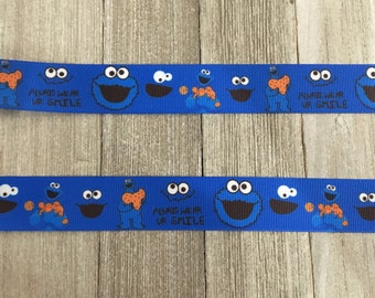 Cookie Monster Ribbon