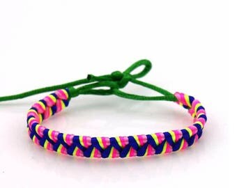 Polyester  adjustable bracelets
