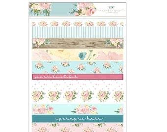 Primavera Washi Strips