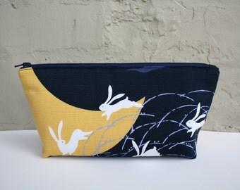 Rabbit Zippered Bag