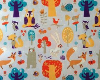 Animals PUL fabric