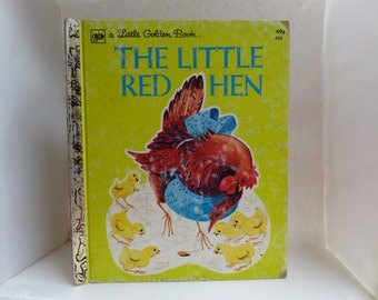 The Little Red, Vintage A Little Golden Book, Illustrated by Carl and Mary Hauge, 1974