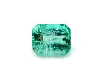 10x8mm Columbian Emerald Loose Stone