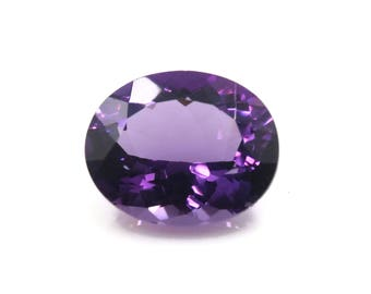 Amethyst 12x10 OV Loose stone