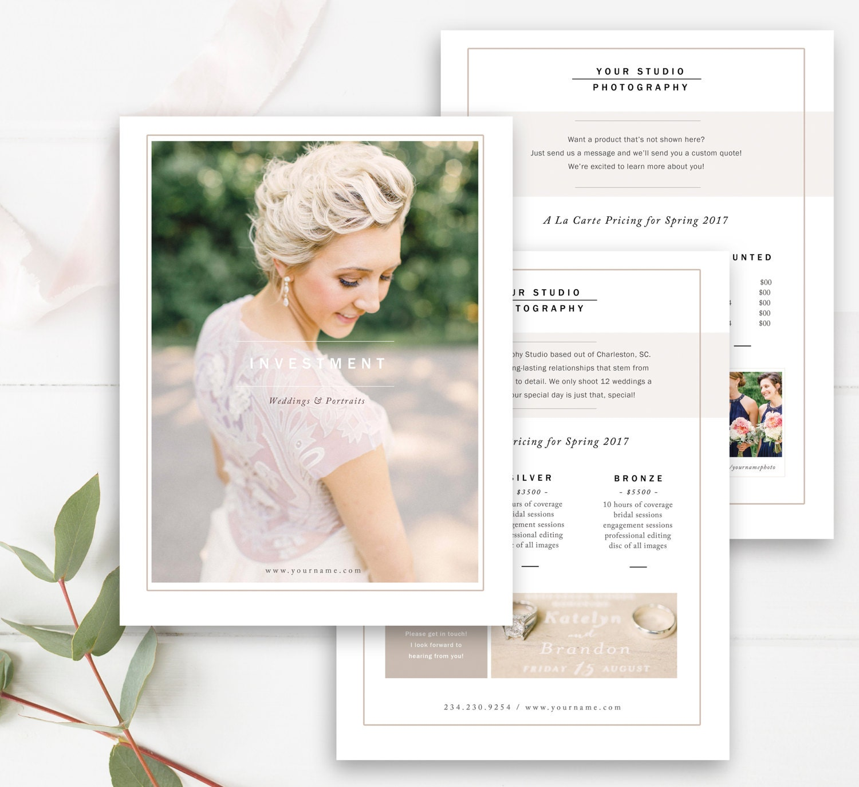 Wedding price list – Wedding Price List