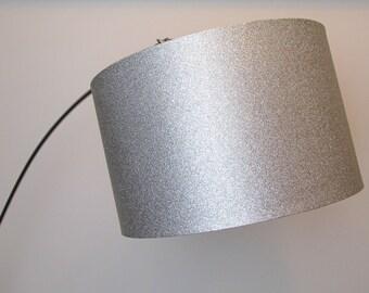 Silver Glitter Lampshade