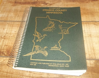 Minnesota Pictorial Atlas Stearns County, Family Photos, Advertising, Plat Map, St. Cloud Mn, Freeport,  Walleye, Pheasant, Duck Cover