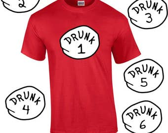 Drunk Thing Tee Shirt (available 1-10 )