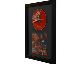 Lil Wayne - 500 Degreez - CD and Art Clock
