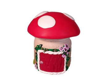 Tooth Fairy House: Red Toadstool