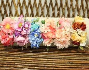 Newborn headband, newborn flower crown, Baby flower crown,  newborn flower headband, newborn photo prop, Baby headpiece