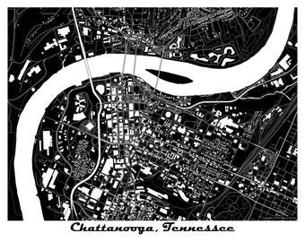 Chattanooga, Tennessee! Many Colors Available!