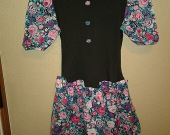 Girl size 12 vintage dress spring has sprung 20% off entire shop!