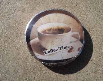 Coffee Time Paper Weight