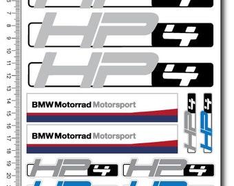 Bmw Sr Decal Etsy - Bmw motorrad motorsport decals