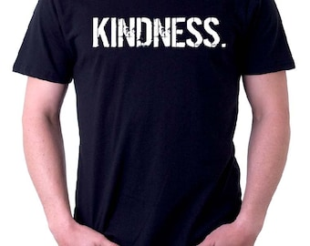 The BLACK & WHITE Line -oneWORD KINDNESS Tee