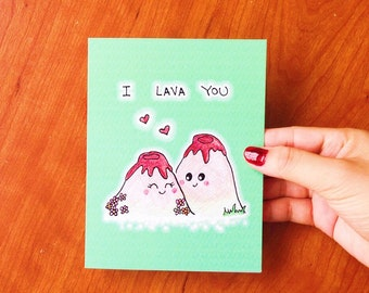 Anniversary card, Funny anniversary card for boyfriend, funny love card, I love you card for husband, funny boyfriend card, I lava you card