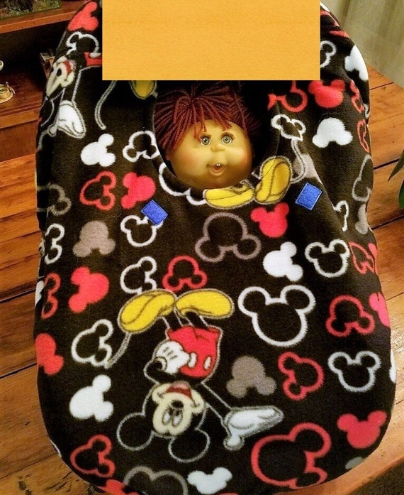 car seat cover up mickey mouse baby custom by mamasgotmecovered. Black Bedroom Furniture Sets. Home Design Ideas