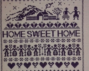 Home Sweet Home PURPLE