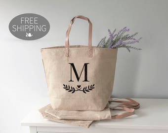 Bridesmaid Gift Ideas, Personalized Bridesmaid Gifts, Bridesmaid Tote Bag, Monogrammed Gifts, Bridal Party Gift, Unique Gift for Bridesmaids