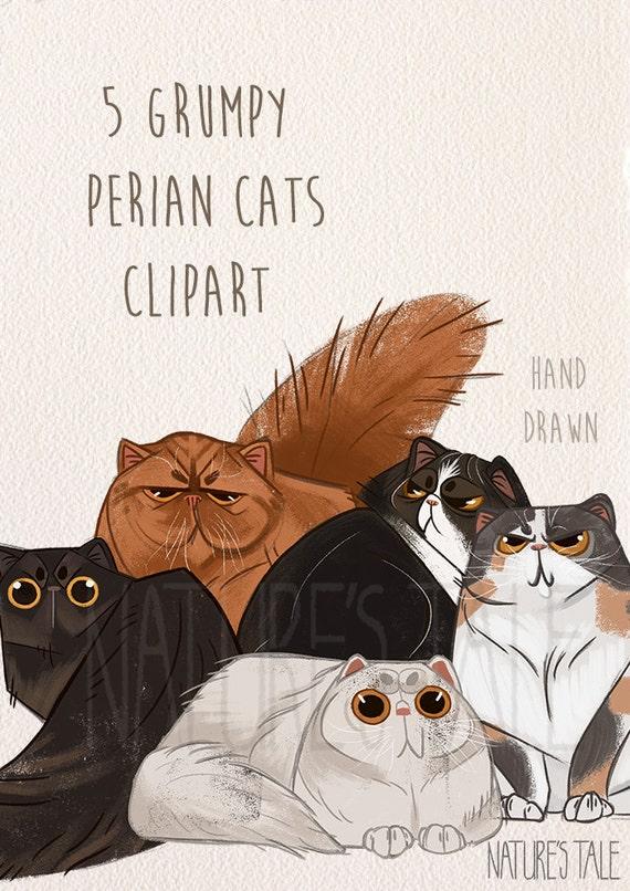 clipart grumpy cat - photo #49