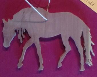 NEW!! Cedar Mustang Horse Ornament!