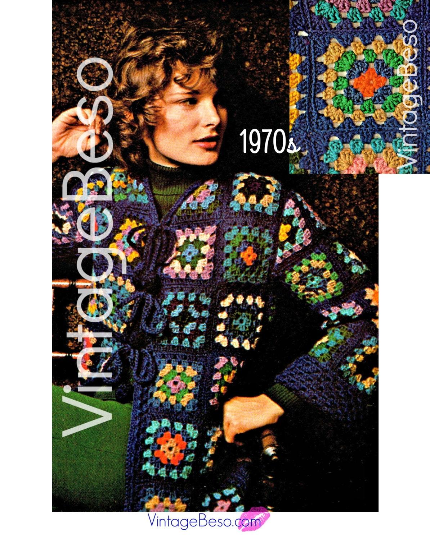 crochet granny square patterns pdf