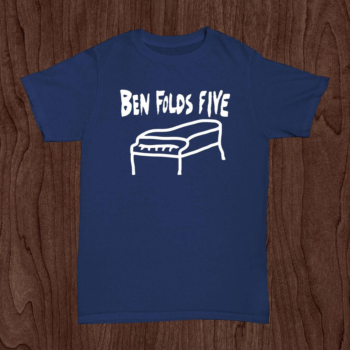 Black t shirt ben folds -  Ben Folds Five T Shirt Whatever And Ever Amen Zoom
