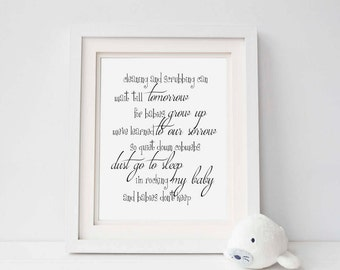 Babies don't keep quote - Printable - Diy print - Wall art - Nursery decor - Baby shower gift  - Instant download - Typography