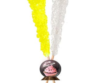 Bulk Party Candy Coffee Sugar Stick Individually Wrapped Reception Food Wholesale Lollipop Yellow White Candy White Shower Candy Assorted