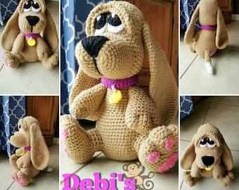 Basset Hound Puppy, Made-to-Order Crochet