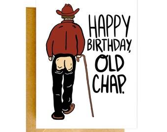 Funny Birthday Card, Funny Old Birthday Card, Birthday Card, Funny Cards, Birthday Card, Funny Card, Unique Birthday Card, Funny Cards