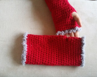 Crochet Hand Warmers | Fingerless Gloves | Wrist Warmers