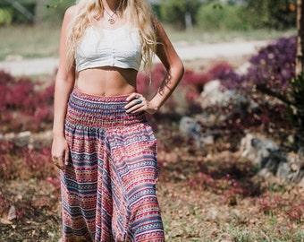 Women's Harem Pants // Harem Pants // Yoga Pants // Rainbow Harem Pants // Kundalini Pants // Festival Pants // Music Festival Pants