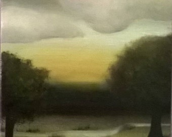 Little Landscape Original Oil Painting