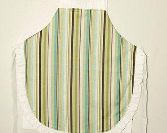 Children's stripe apron