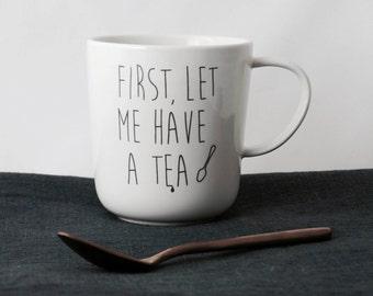 "Mug ""TEA"""