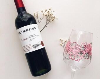 Blossom Red Wine Glass Set