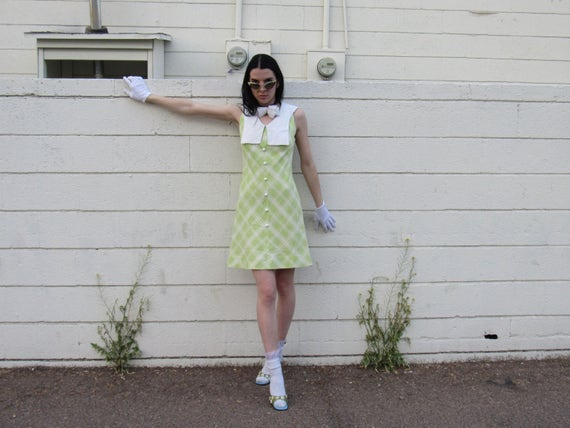 70s Sailor @ A Picnic Dress