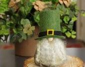 Leprechaun Irish Gnomes, St Patrick's Day, Felt Gnomes, Fairy Gnome, Birthday Gifts for Gnome Lovers, Ireland, Gnome Makers, Forest, Nordic