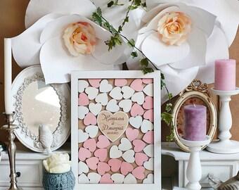 SALE! Drop box guest book, guest book alternative, wood guest book, custom guest book, wedding guest book
