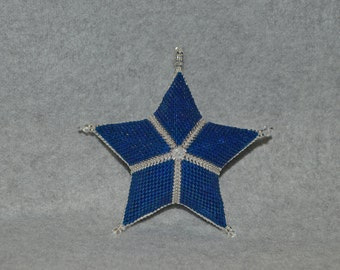 Basic Peyote Star Pattern