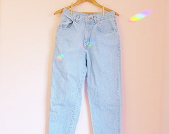 Vintage 90s PASTA Faded High-Waisted Straight Leg Mom Jeans - Size 8/10